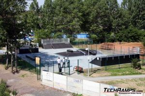 Zgorzelec skatepark panorama 1